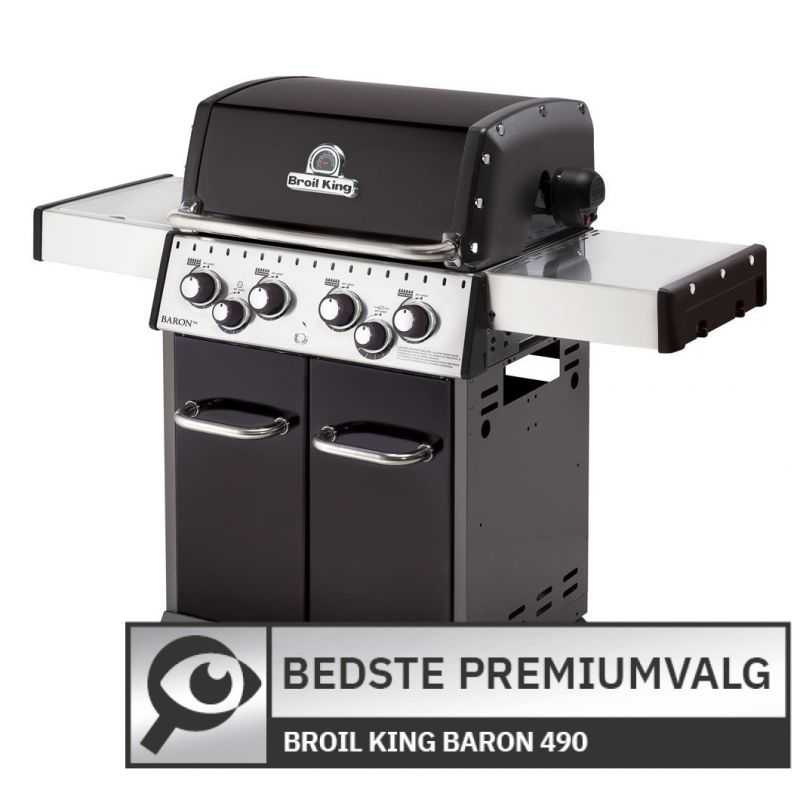 Broil King Baron 490 								 									- Bedste premium-gasgrill