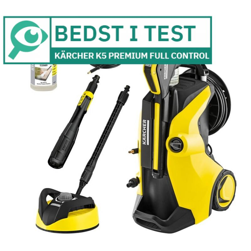 Kärcher K5 Premium Full Control Plus Home 								 									- Bedst i test