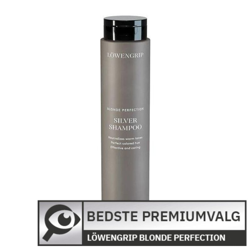 Löwengrip Blonde Perfection Silver Shampoo 								 									- Bedste premium-silvershampoo
